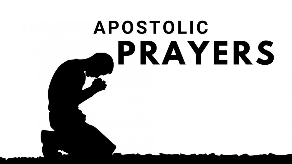 Image result for apostolic prayers